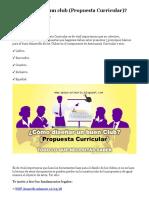 Como diseñar un club _propuesta curricular.pdf