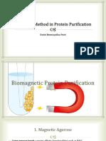 Biomagnetic Purification