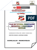 Plan de Tutoria Institucional Union - Copia