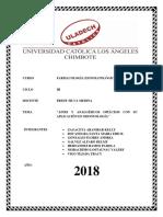 AINES Y ANALGÉSICOS OPIÁCEOS CON SU APLICACIÓN EN ODONTOLOGÍA.docx