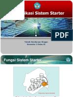 Identifikasi Sistem Starter 2