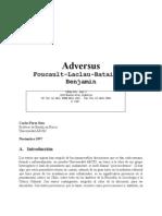 28292906 Perez Soto Carlos Adversus Foucault Laclau Bataille Benjamin 1997
