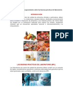 Cartilla de BPL Alimentos