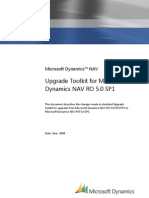 Upgrade Toolkit for Microsoft Dynamics NAV RO 5.0 SP1