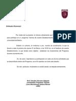 Carta Programa Tutores