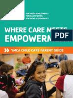 YMCA 2014-2015 Parent Guide