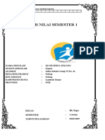 Daftar Nilai Kelas IA SMT 1 K13 Rev 2018 Edit