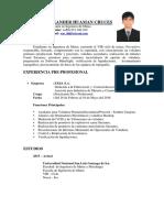 Documentado Cv - Huaman Cruces Xavier Resumen
