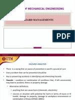 5a Hazard Management