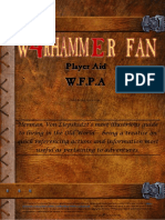 Wfpa3.2.2 Wfrp 4e Player Aid