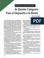Retencion Del Imp_Renta 5 Categ. Mas Ejercicios