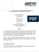 06576 Prediction and Assessment of Ammonium Bisulfide Corrosion Under Refinery Sour Water Service Conditions (51300-06576-Sg)
