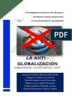 La Antiglobalizacion - Informe