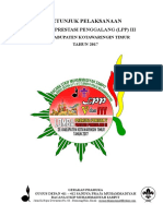 Petunjuk Teknis (Juknis) LPP III (Penggalang)