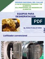 Conservacion x Deshidratacion