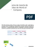 Problema de Mezcla de Petróleo