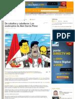 De caballos y caballeros- Los exabruptos de Alan García Pérez - Perú - Terra Perú