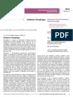 Pediatric Pemphigus