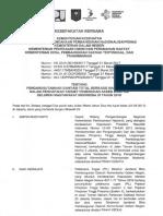 MOU Pengharusan STBM Target UA 2019