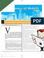 Open Source 3D WebGIS