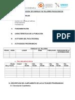 Informe de Ejecucion Charlas_talleres