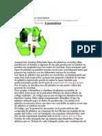 ACTIVIDADES de Educacion Ambiental en Escuelas