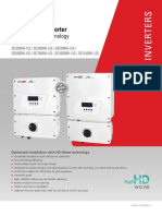 Se Hd Wave Single Phase Inverter Datasheet Na 2018 10