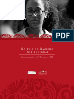 No País do Racismo Institucional