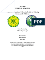 Jurnal Diagnostic Properties of C-Reactive