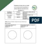 Informe Tripanosoma