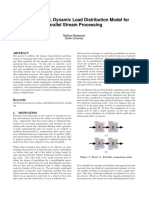 A Fine-Grained, Dynamic Load Distribution Model for Parallel Stream Processing