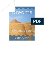 Dreams:Philosophical poems by Sorin Cerin