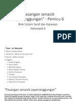 Pleno 6 - Saraf & kejiwaan Kelompok 6.ppt