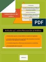 articulos arbitraje