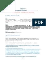 04. Statut Uniune Sindicala Teritoriala - Model