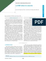 Development Lenght of FRP Straight Rebars