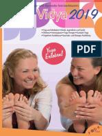 Yoga Vidya - Alle Angebote 2019/Yoga Vidya - main catalogue 2019