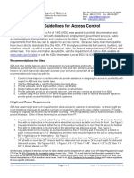 ADA Guidelines for Access Control
