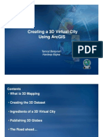 Creating a 3d Virtual City Using Arcgis