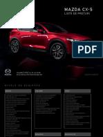 Lista de Preturi Mazda CX-5 Model 2018 (1)