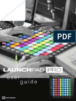 Launchpad Pro User Guide Français