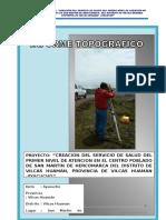 Informe Topográfico hercomarca