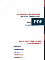 Spiritual Psychology -A Canvas of Concerns- - Copy
