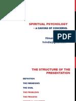 Spiritual Psychology -A Canvas of Concerns- - Copy