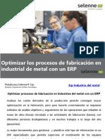Optimizar Los Procesos de Fabricación en Industrias de Metal Con Un ERP