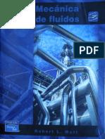 36,50 Bs.- Mecánica de Fluidos - Robert L. Mott - 6ta Edición(REVISAR).pdf