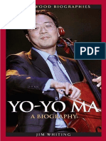 YO-YO MA.a Biography, By Jim Whiting
