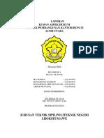 Laporan k3 & Aspek Hukum Pembangunan Kantor Bupati Aceh Utara