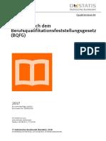 Statistisches Bundesamt - Berufsqualifikation 2018 (Für Bremen Liegen Keine Daten)