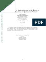 (00) Why Quaternions